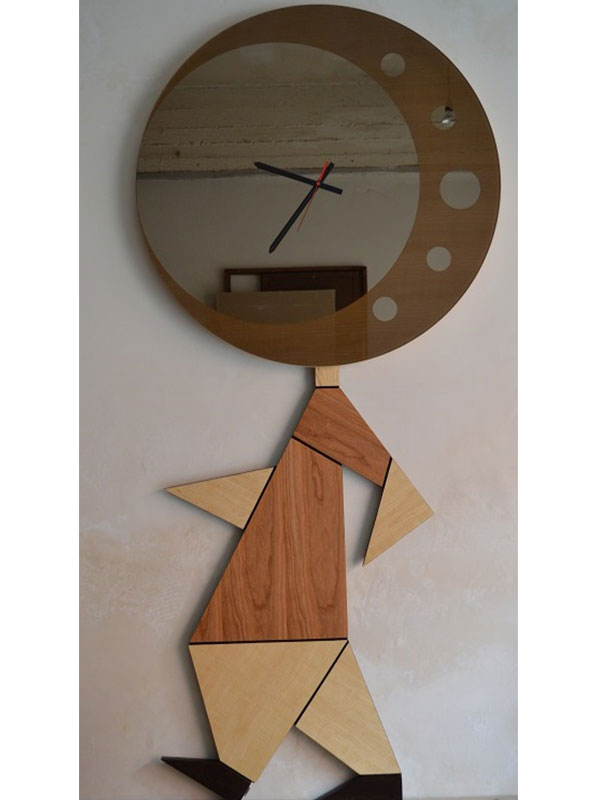Orologio New York architetto Simonetto Vellucci